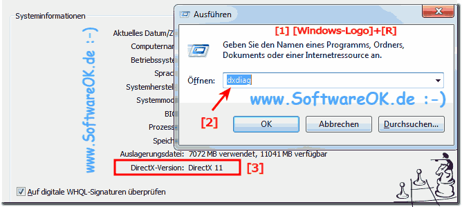 DirectX Version Prüfen alle Windows OS!