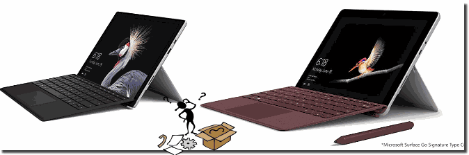 Surface Pro und Surface Go!