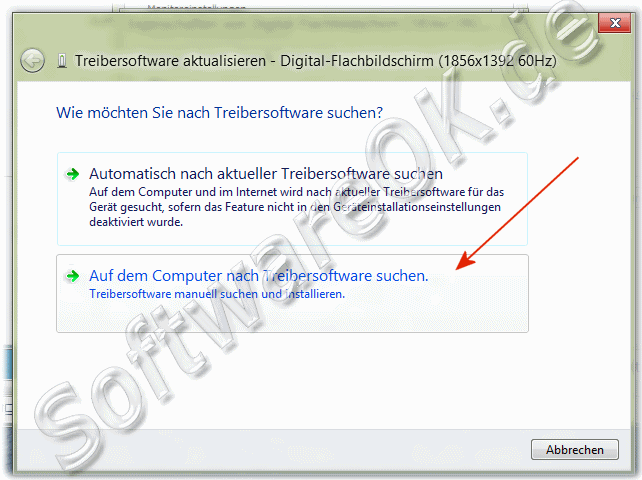 Treibersoftware aktiualisieren Windows-8