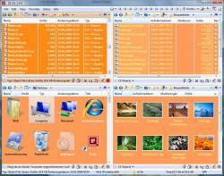 Quad Explorer f�r Windows Betriebssysteme